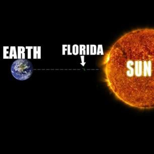 This is how how you'll feel in Florida during your program...  ;)