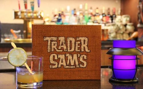 Trader Sam's just opened up