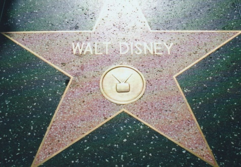 walt Disney Star on Walk of Fame