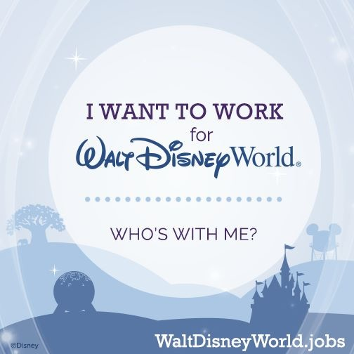 work for disney