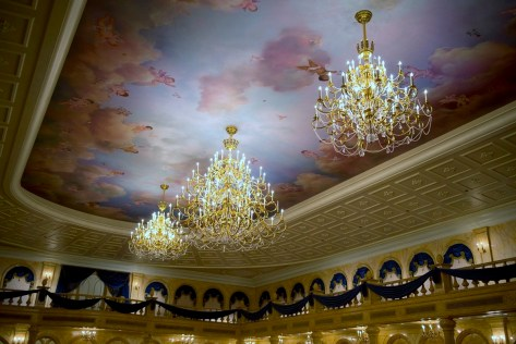 Fairytale Elegance at Be Our Guest Restaurant