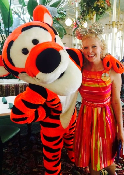 Tigger was growling in my ear!