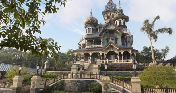 Mystic Manor at Disneyland Hong Kong.