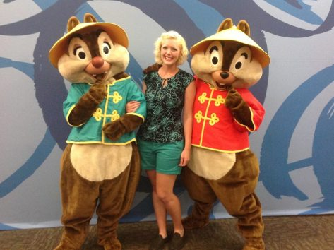 Chip and Dale (Chip has the chocolate chip nose!)