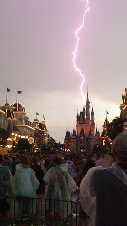 Amazing lightning show!