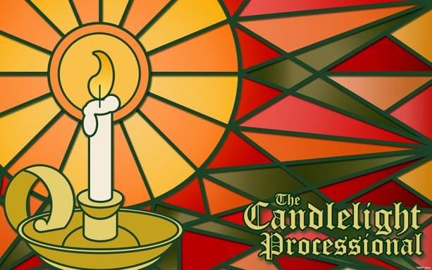 The beautiful new logo for the 2014 Candlelight Processional was created by our CM friend, Jason Tackett.