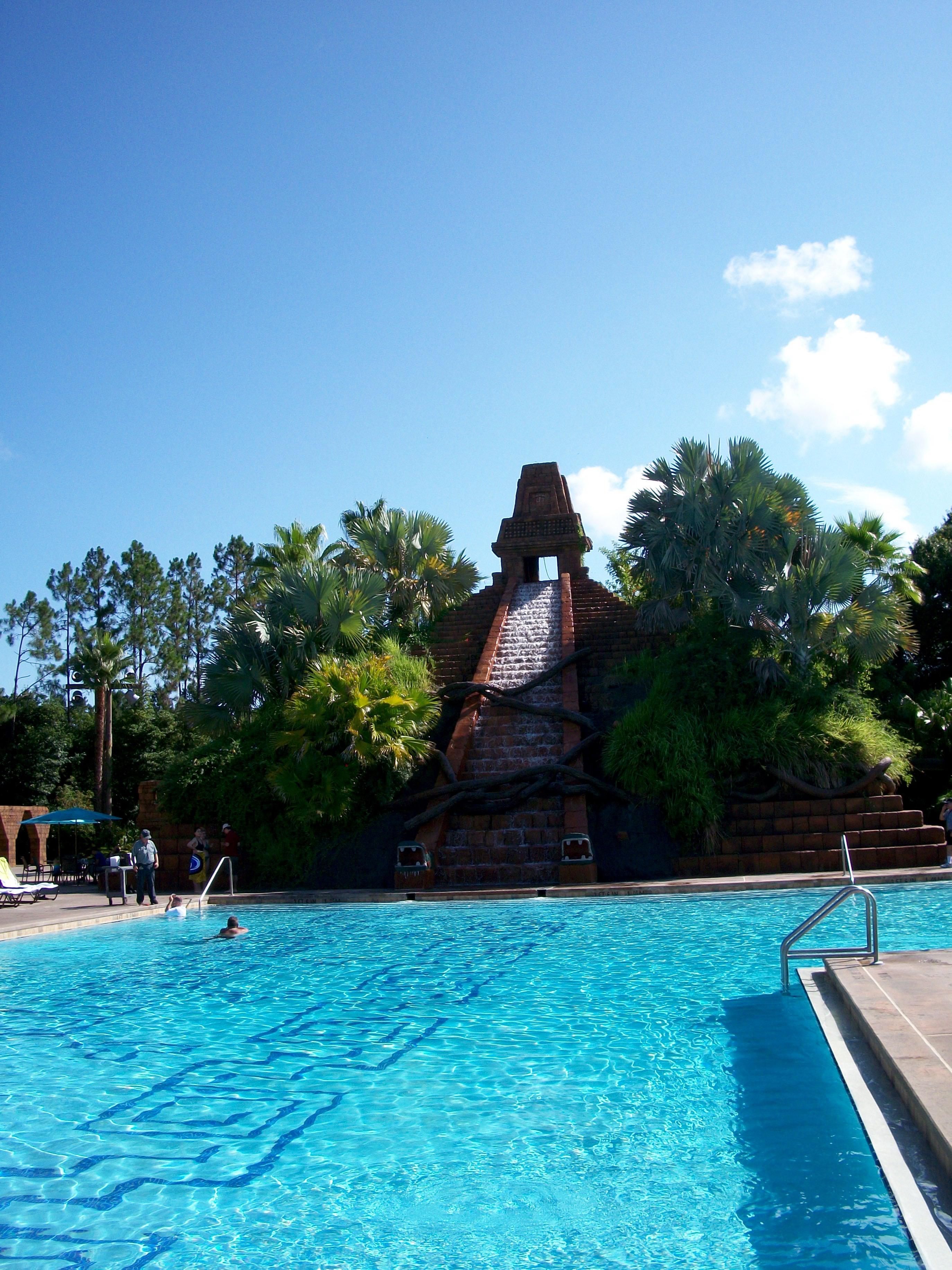Disney s coronado springs resort pool elly and caroline 39 s magical moments for Caroline springs swimming pool
