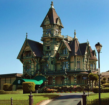 Carson Mansion in Eureka, CA.