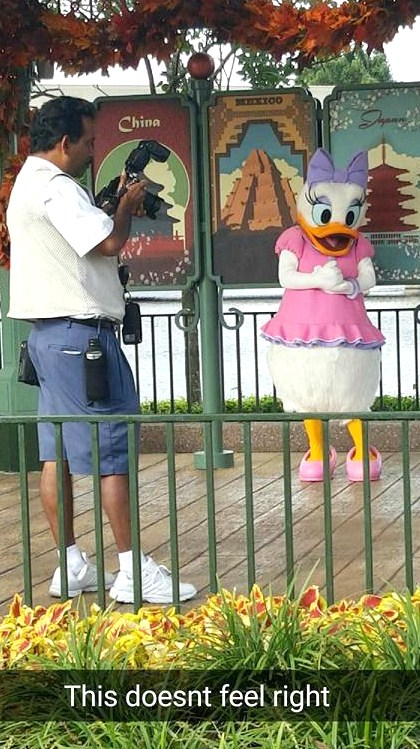 October 19, 2015 Update:  Hello Ms. Daisy Duck!