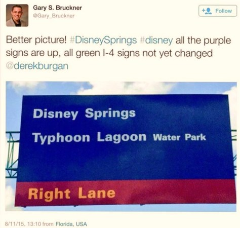 New signage has gone up at WDW for Disney Springs. They no longer say Downtown Disney.
