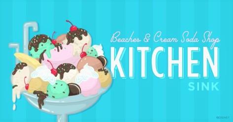 ice cream kitchen sink