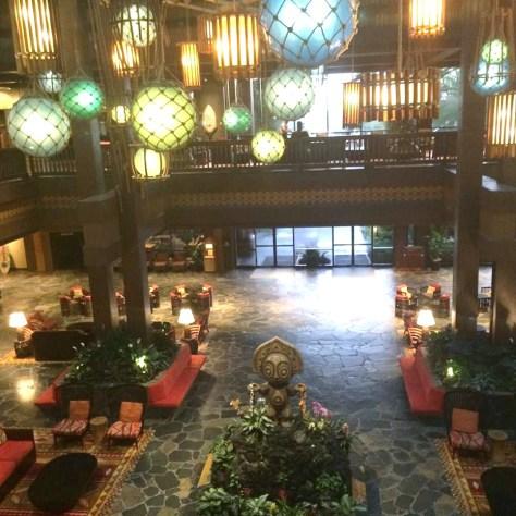 The newly renovated lobby.