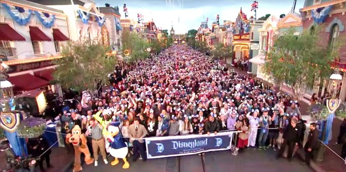 May 22, 2015:  The 60th Diamond Anniversary celebration begins on Main Street USA!