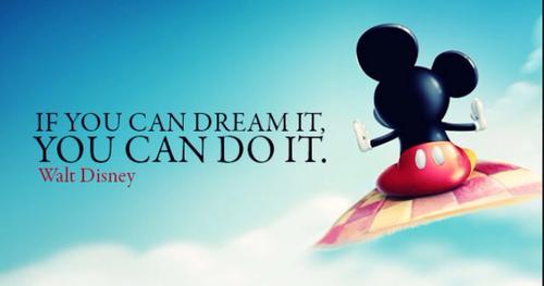 Walt never said this.