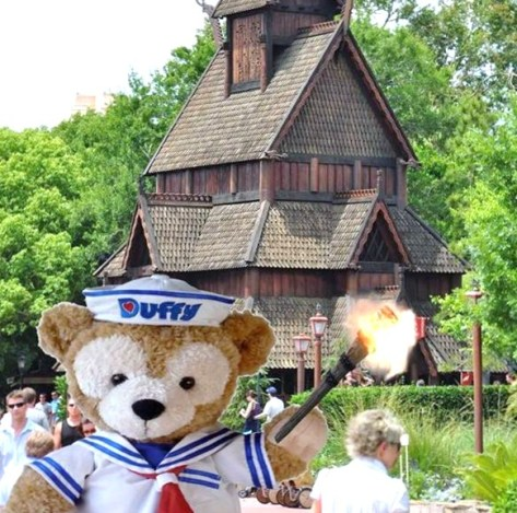 Duffy's not leaving Epcot without a fight!!