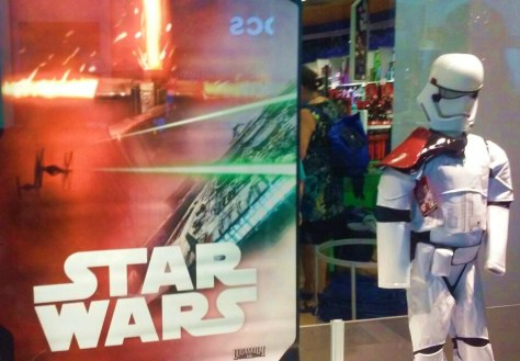 Worldwide release of new Star Wars merchandise.