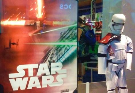 Worldwide release of new Star Wars merchandise.
