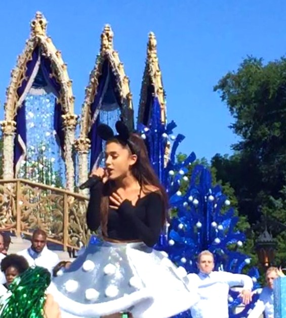 Taping the 2016 Disney Parks' Magical Christmas Celebration at ...