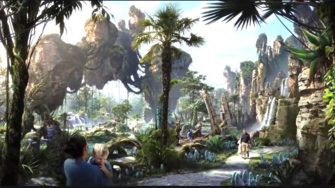 Pandora during the day.