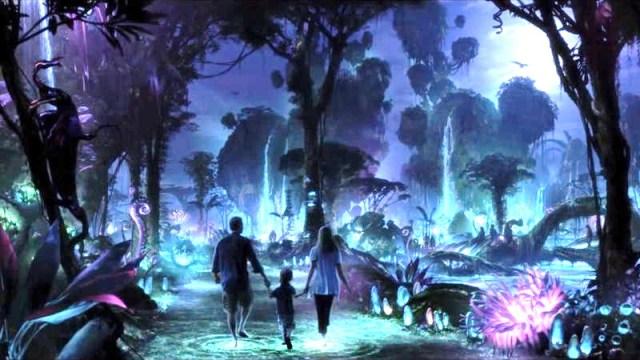 Pandora at night.