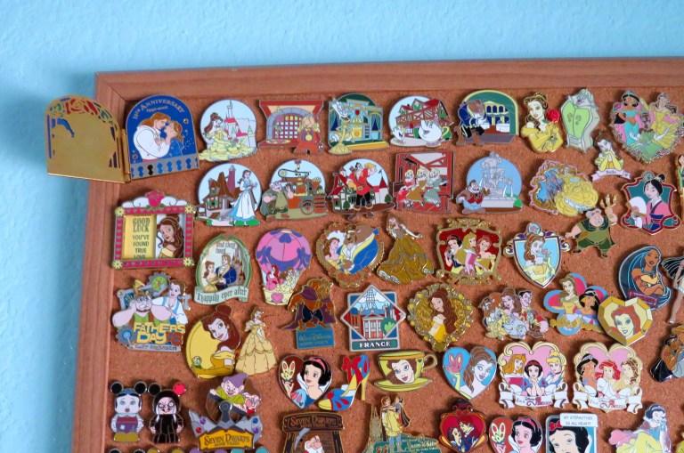 A few of my Belle pins.