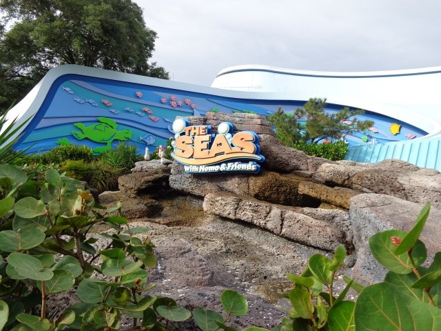 The Living Seas at Epcot, one of my favorite pavilions!