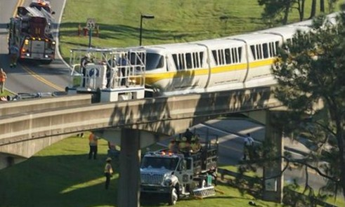 Monorail Yellow DOA.