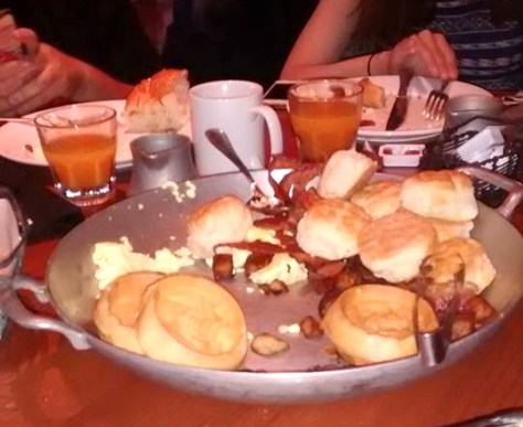 We ate it all!