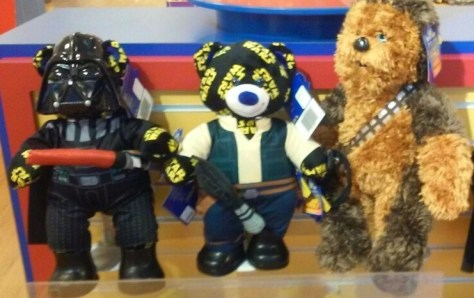 Star Wars bears.