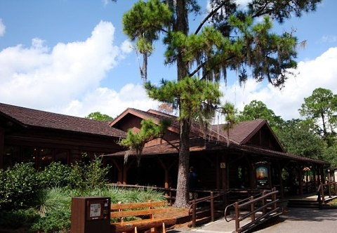Trail's End Restaurant at Fort Wilderness Campground