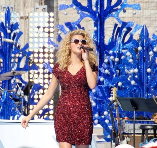 Tori Kelly performs on the Castle stage.