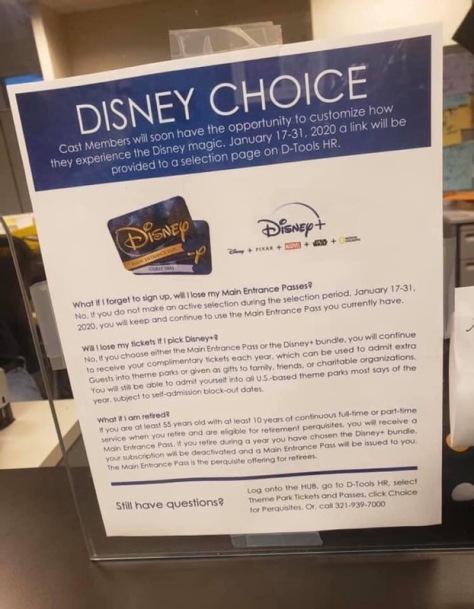 Disney Choice