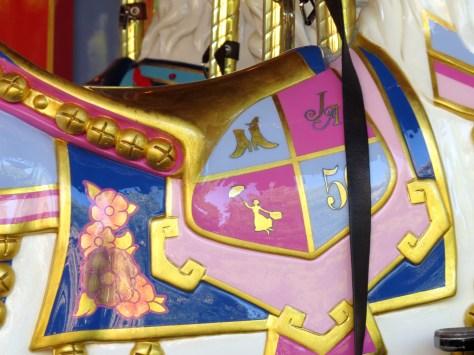 Her saddle