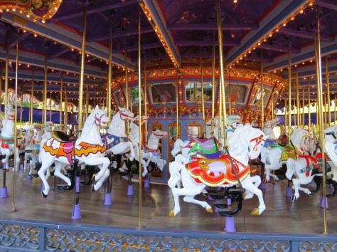 The 68 horses of King Arthur Carrousel