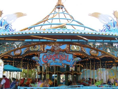 The King Triton Carousel.