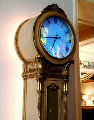 Cinderella grandfather clock
