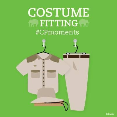 CP Moment Costume Fitting
