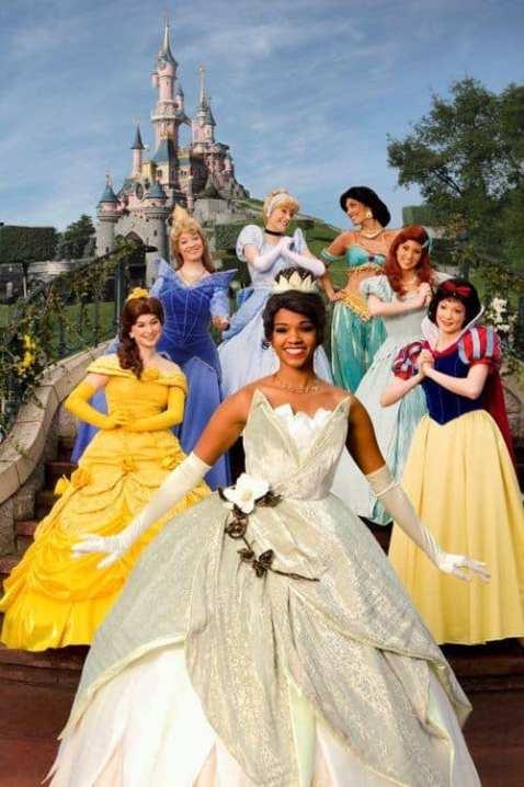 Disney princess Tiana