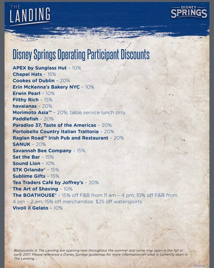 cast member discounts | Elly and Caroline's Magical Disney