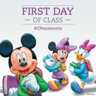 CP Moment First Day of Class