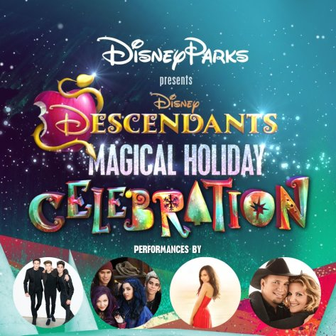 november 25 2016 disney parks presents a descendants magical holiday celebration premieres on disney channel 800900 pm est and on the disney