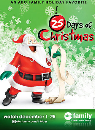 The 25 Days of Christmas TV Schedule | Elly and Caroline's Magical ...