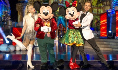 JULIANNE HOUGH, MICKEY MOUSE, MINNIE MOUSE, DEREK HOUGH