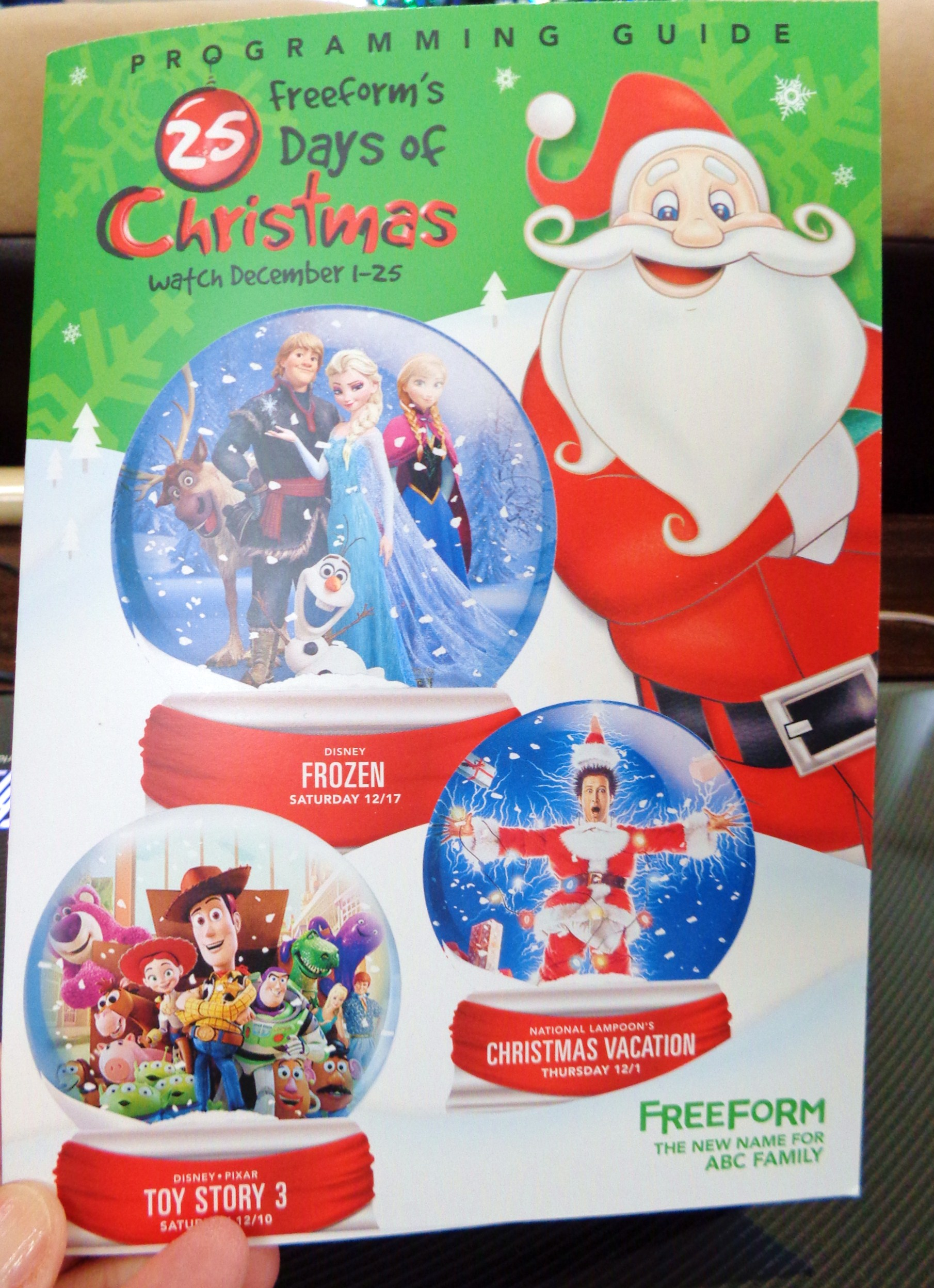 The 25 Days of Christmas TV Schedule   Elly and Caroline's Magical ...