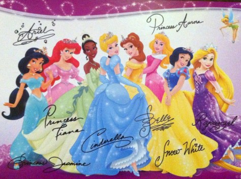 Disney princess signature