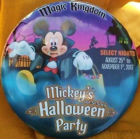 2017 Mickey's Not So Scary Halloween Party Nights | Elly and ...
