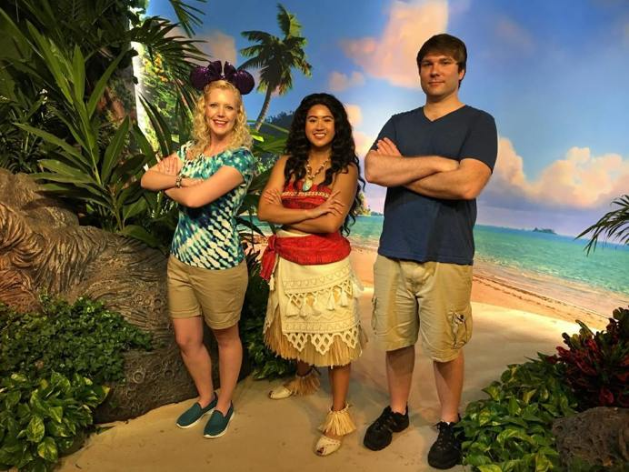 Meeting moana at disney world elly and carolines magical disney meeting moana at disney world m4hsunfo