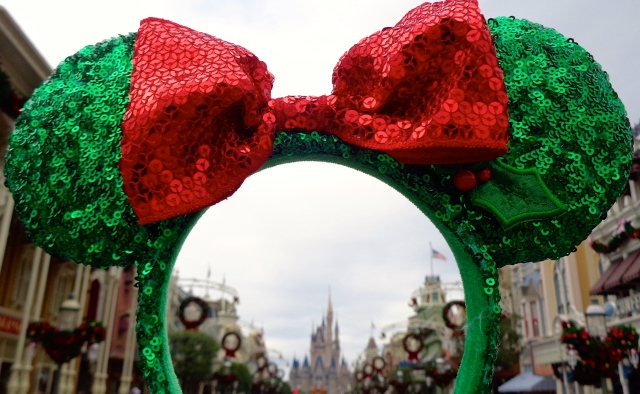 Christmas Mickey Ears