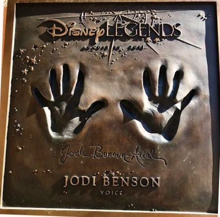 jodi benson Disney Legend