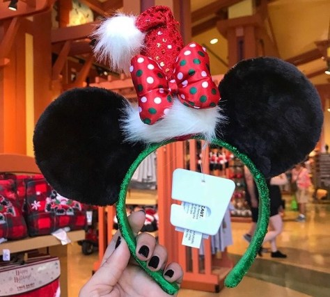 santa Mickey Ears